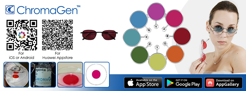 Chromagen Lenses producer and worldwide shipping, do your free ishihara test for color blindness and buy Chromagen Contact Lenses for Color Blindness
